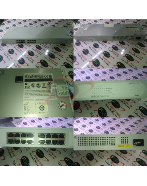 3Com 3C16470 Baseline Switch 10/100 (16-port)