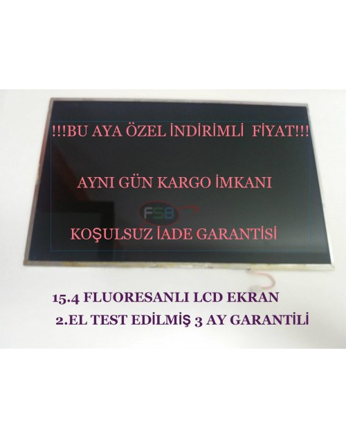 "337007-001 Notebook Lcd Ekran (15.4"" Floresan Parlak)"
