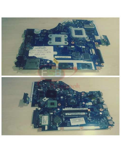 Acer Aspire 2. el LA-7092P Anakart AMD CPU