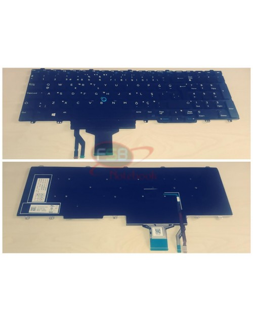 Dell Latitude E5550 E5570 2. el Klavye 00TG2X