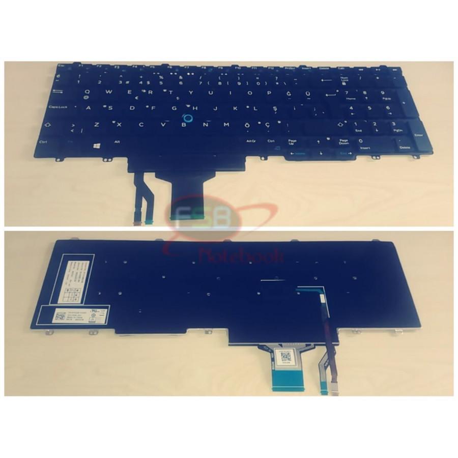 Dell Latitude E5550 E5570 Klavye 00TG2X
