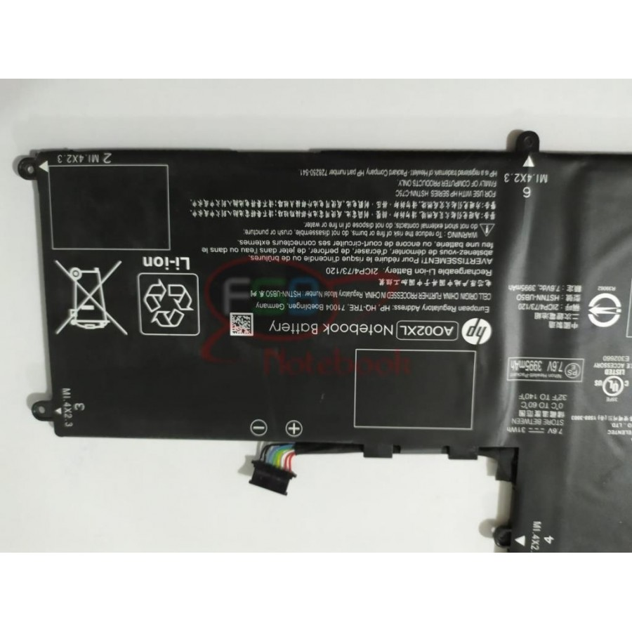 Hp ElitePad 1000 G2 AO02 AO02XL Notebook Batarya