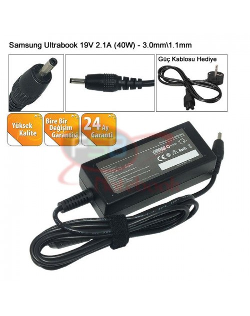 Oem Samsung 530U3C Ultrabook Adaptör (MUADİL 19V 2.37A 45W)