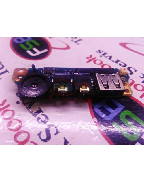 Toshiba Portege A600 USB ve Ses Soketi